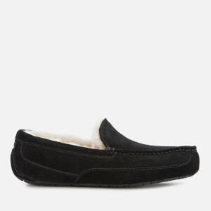 UGG Men's Ascot Suede Slippers - Black