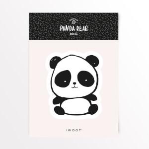 Panda Bear Eyes Vinyl Decal