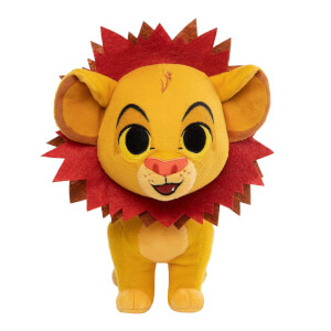 Lion King - Simba with Leaf Mane Plush