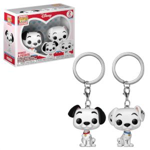 Disney La Carica dei 101 - Pongo & Peggy Pop! Portachiavi