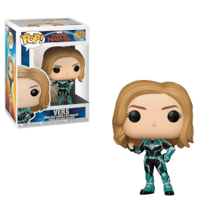 Figurine Pop! Vers Captain Marvel