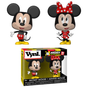 Figuras Funko Vynl. Mickey Mouse y Minnie Mouse
