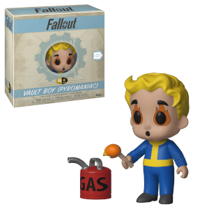 Figura Funko 5 Star - Vault Boy (Pyromaniac) - Fallout