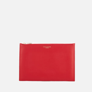 Aspinal of London Women's Essential Large Pouch - Scarlet