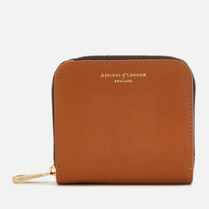 Aspinal of London Women's Mini Continental Purse - Tan
