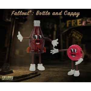 Fallout Bendable Figures 2-Pack Bottle & Cappy 9 - 18 cm