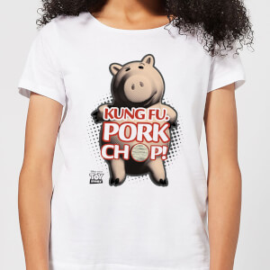 Toy Story Kung Fu Pork Chop Women's T-Shirt - White