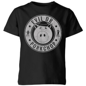 Toy Story Dr Porkchop Kids' T-Shirt - Black