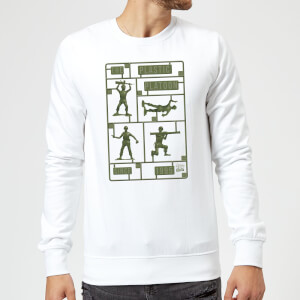 Sweat Homme Soldats en Plastique Toy Story - Blanc