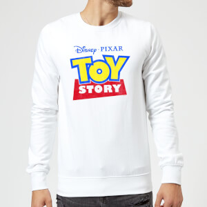 Toy Story Logo Sweatshirt - White