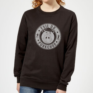 Toy Story Dr Porkchop Women's Sweatshirt - Black