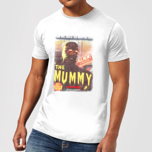 Hammer Horror The Mummy Men's T-Shirt - White