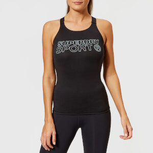 Superdry Sport Women's Active Fitted Vest - Black