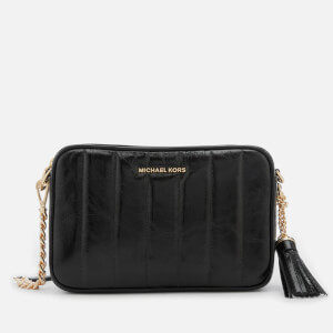 MICHAEL MICHAEL KORS Women's Medium Panel Quilted Camera Bag - Black
