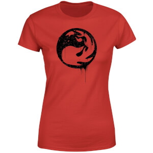 T-Shirt Femme Mana Rouge - Magic : The Gathering - Rouge