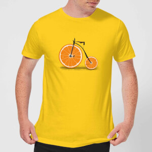 Florent Bodart Citrus Men's T-Shirt - Yellow