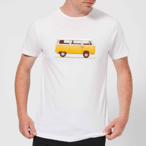 Florent Bodart Yellow Van Men's T-Shirt - White