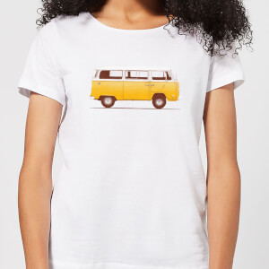 Florent Bodart Yellow Van Women's T-Shirt - White