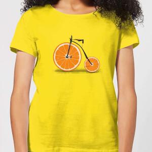 Florent Bodart Citrus Women's T-Shirt - Yellow