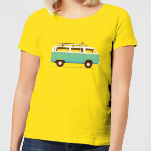Florent Bodart Blue Van Women's T-Shirt - Yellow