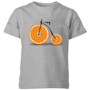 Florent Bodart Citrus Kids' T-Shirt - Grey