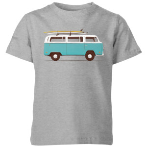 Florent Bodart Blue Van Kids' T-Shirt - Grey