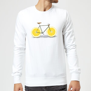 Florent Bodart Citrus Lemon Sweatshirt - White