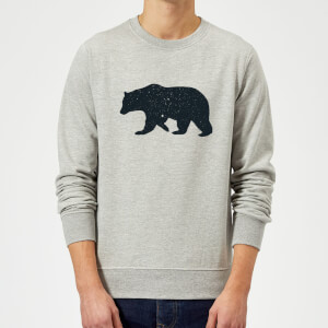 Florent Bodart Bear Sweatshirt - Grey