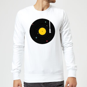 Florent Bodart Music Everywhere Sweatshirt - White