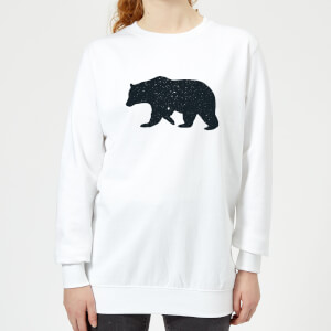 Florent Bodart Bear Women's Sweatshirt - White