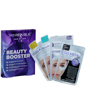 Skin Republic Beauty Booster Gift Set (4 Piece) (Including 1 Free Mask)