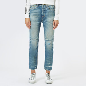 Golden Goose Deluxe Brand Women's Happy Trouser Jeans - Blue Handle Patch