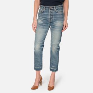 Golden Goose Deluxe Brand Women's Happy Trouser Jeans - Blue Handle Patch
