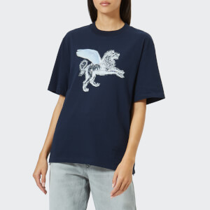 Golden Goose Deluxe Brand Women's Leo T-Shirt - Dark Navy Strass