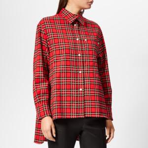 Golden Goose Deluxe Brand Women's Ripa Shirt - Red/Black Check