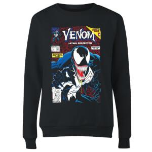 Venom Lethal Protector Women's Sweatshirt - Black