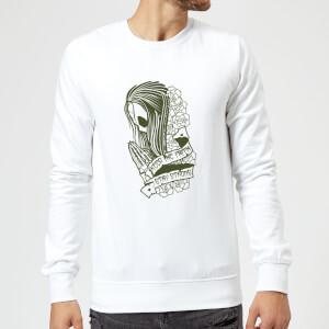 Stay Strong Keep The Faith Sweatshirt - White