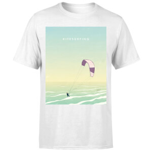 Kitesurfing Men's T-Shirt - White