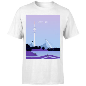 Munich Men's T-Shirt - White