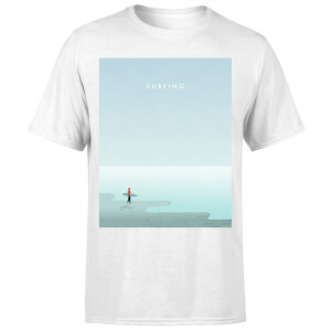 Surfing Men's T-Shirt - White