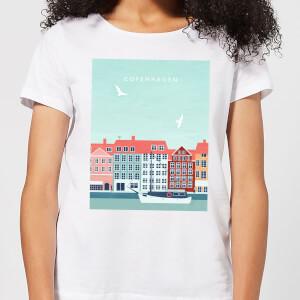 Copenhagen Women's T-Shirt - White