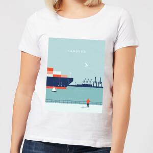 Hamburg Women's T-Shirt - White