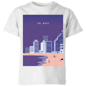 Tel Aviv Kids' T-Shirt - White