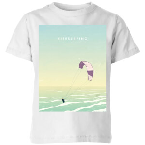 Kitesurfing Kids' T-Shirt - White