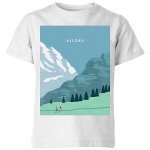 Algau Kids' T-Shirt - White