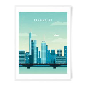 PlanetA444 Frankfurt Art Print