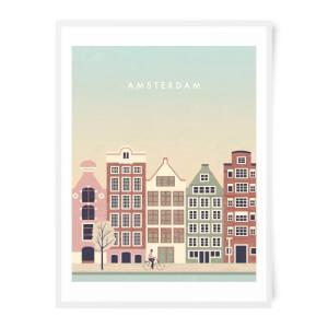 PlanetA444 Amsterdam Art Print