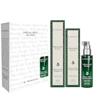L'Anza Healing Nourish Christmas Gift Set (Worth £75.00)