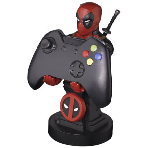 Marvel Collectible Deadpool 8 Inch Cable Guy Controller and Smartphone Stand