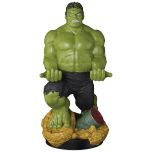 Figurine de support Cable Guy XL à collectionner – Marvel – Hulk – env. 30 cm